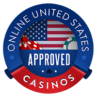 Approved by Online United States Casinos Badge