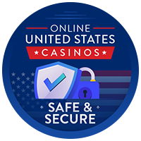 Safe and Secure Online United States Casinos Badge