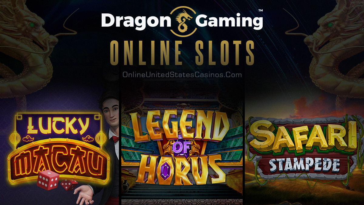 Top Dragon Gaming Online Slots