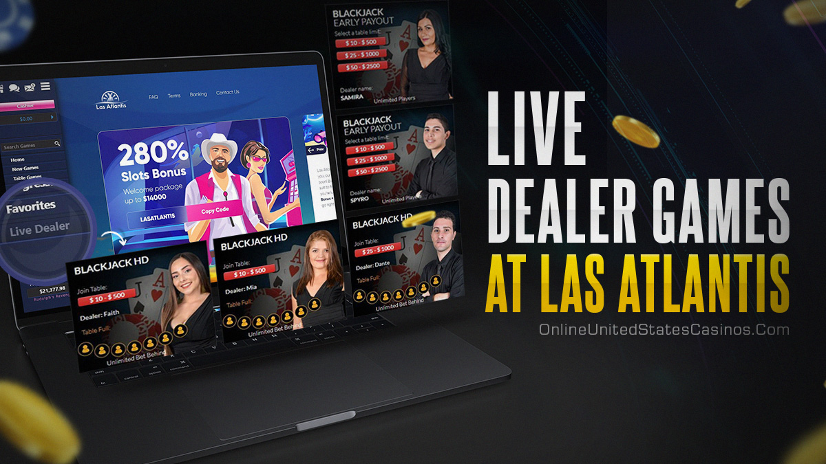 extra live dealer games at las atlantis