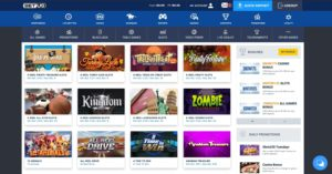 BetUS Online Casino Games Page