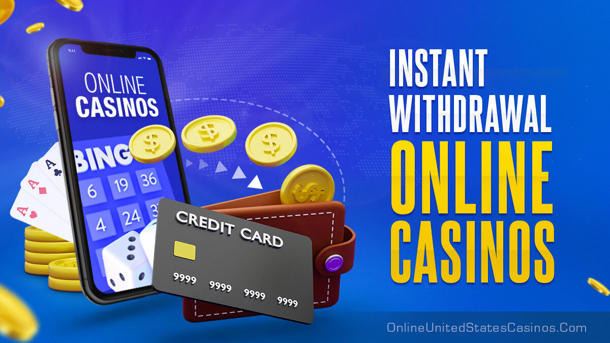 Instant Withdrawal Online Casinos Featured Image With Phone and Credit Card