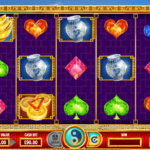 Twin Dragons Online Slot Game Board