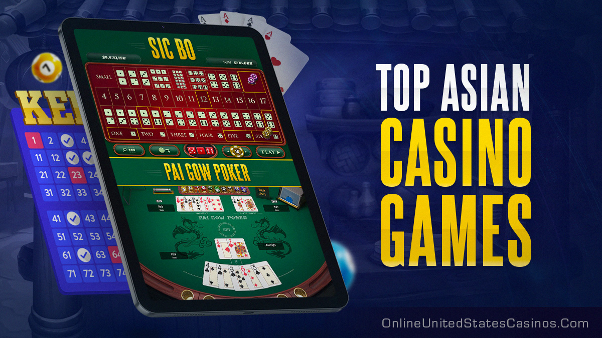 top asian casino games