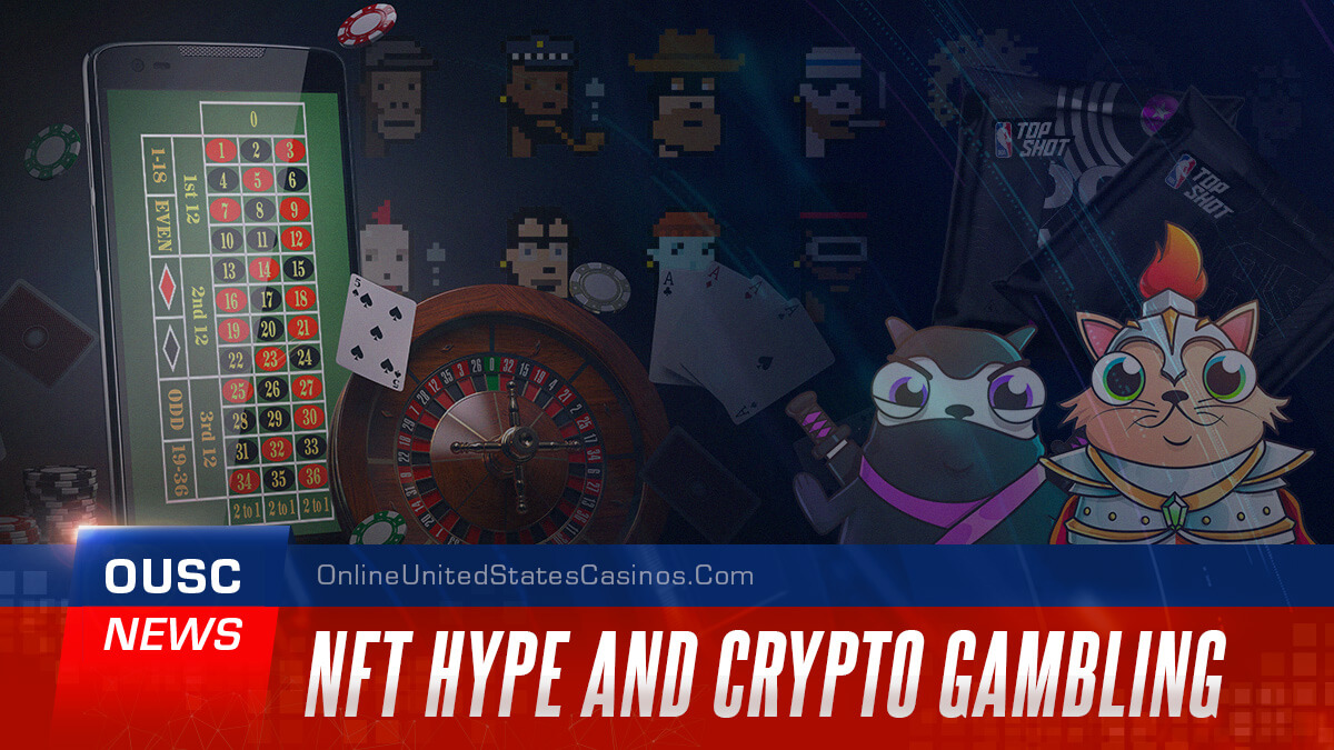 NFT Hype and Crypto Gambling Casino News Header