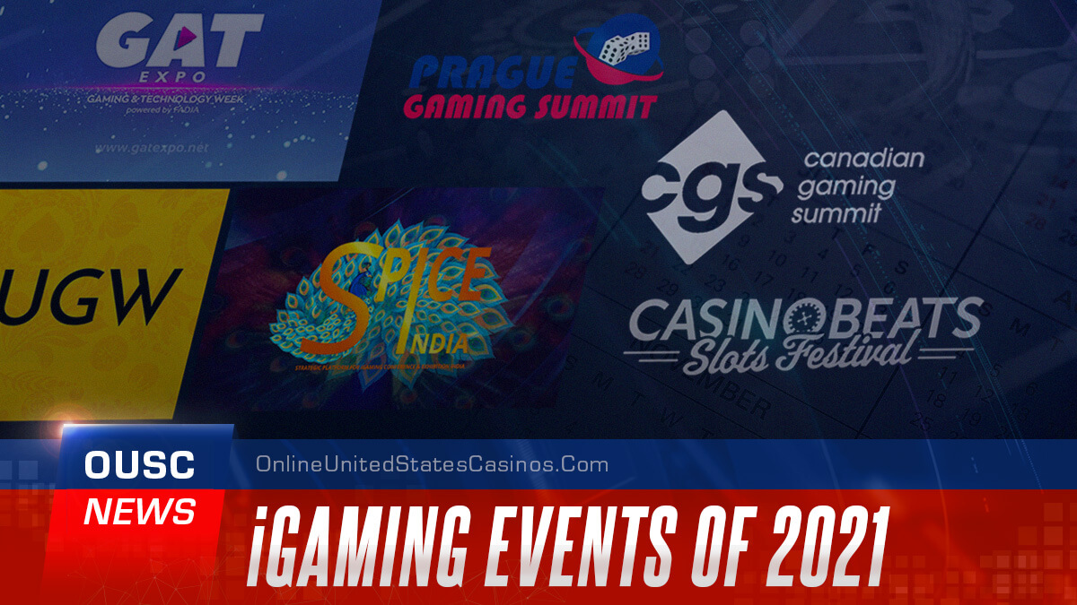 iGaming Events of 2021