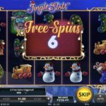Jingle Slots Online slot free spins feature