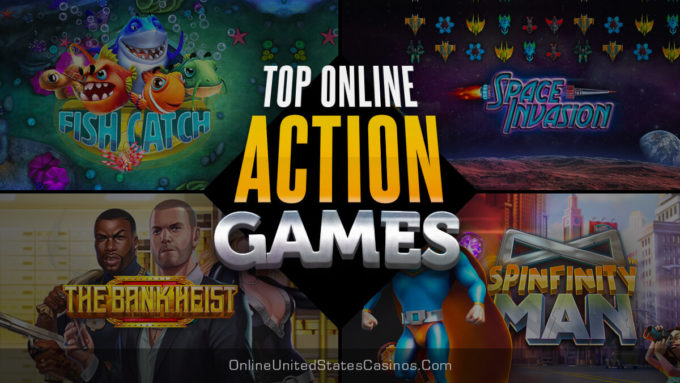 Top Online Action Games at Casinos