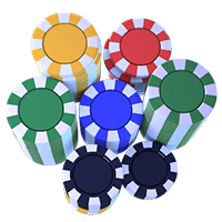 Casino Chips Stack Icon