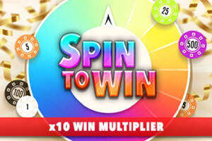 Spin to Win Casino Game Logo
