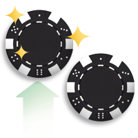 blackjack rules - double down icon