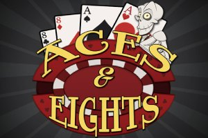 Aces and Eights Video Poker Logo